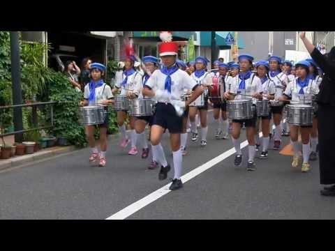 志村第六小学校の鼓笛隊パレード?