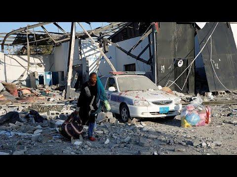 Libyen: Angriff auf Flüchtlingslager - mindestens 44  ...