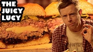 The Juicy Lucy Cheese-Stuffed Burger Recipe - Burger Lab
