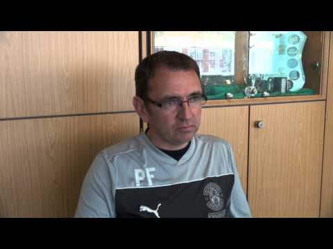dundee - Pat Fenlon speaks to Hibernian TV via YouTube ahead of the club's final SPL match against Dundee at Easter Road (kick off 3pm).