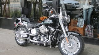 5. 2008 HARLEY-DAVIDSON SOFTAIL FAT BOY VIVID BLACK @ West Coast Harley-Davidson, Glasgow, Scotland