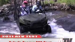 8. ATV Television - 2011 Polaris Ranger 500 Crew Test