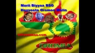 Marii Biyyaa: RSO fi RHO Hayyoota Oromoo waliin taasise
