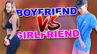 Video DANCE BATTLE - (Boyfriend VS Girlfriend) MP3, 3GP, MP4, WEBM, AVI, FLV Januari 2018