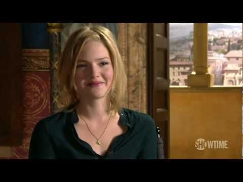 The Borgias Season 3: Hanging with Holliday Grainger