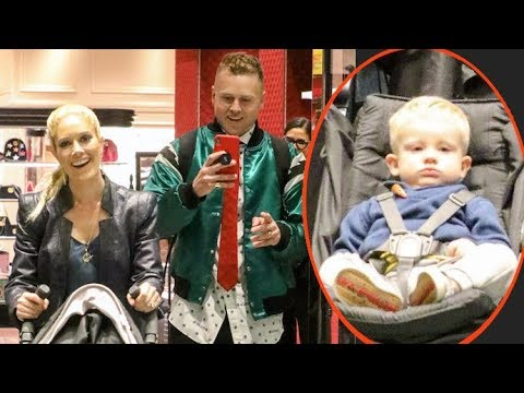 Spencer Pratt Is Thankful For The Attention While X-Mas Shopping With Heidi Montag And Son Gunner