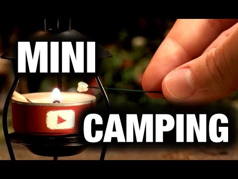 Miniature Camping