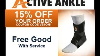 Enter VB1on1 for a 15% Discount on Active Ankle Purchases:...