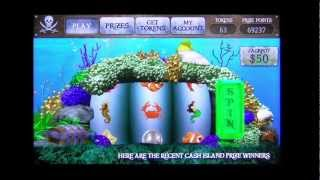 Cash Island Sea Treasure Slots YouTube video