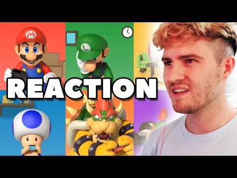 REACTION - Nintendo Direct September 13th 2018 (видео)