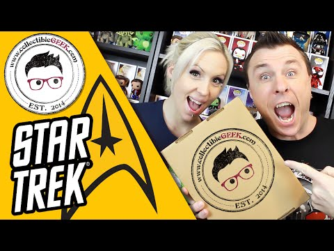 Collectible Geek STAR TREK Cache (December, 2015) Unboxing Review
