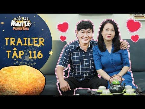 Ngôi sao khoai tây | trailer tập 116: Ông Sang và vợ thắm thiết tình nồng sau khi đi chữa trị tâm lý - Thời lượng: 51 giây.