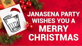 JanaSena Party Wishes You a Merry Christmas | Pawan Kalyan