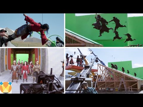 Mulan (2020) Behind the Scenes - Best Compilation