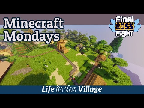Video thumbnail for Upgrading Buggerton-on-Sea – Minecraft Mondays – Final Boss Fight Live