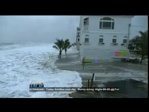 Hurricane Sandy's effects