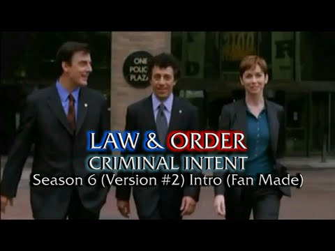Law & Order: Criminal Intent: Season 6 (Version #2) Intro (Fan Made)