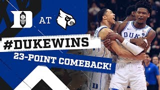 Video Duke Basketball: Historic Comeback at Louisville! (2/12/19) MP3, 3GP, MP4, WEBM, AVI, FLV Agustus 2019