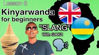 Learn Kinyarwanda slang with Gaks. For this lesson we are going back to Rwanda and work a local rapper by the name of GAKS. He knows the latest of the ...
