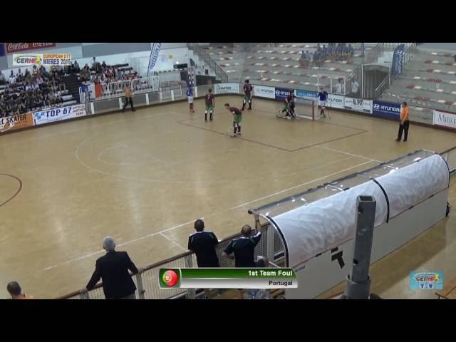 Portugal-France | Semi-Finals | Euro U17 Mieres 2016 | Game #25