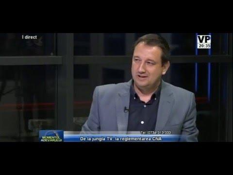 Emisiunea Momentul Adevărului – 21 aprilie 2016 – invitat special Radu Herjeu