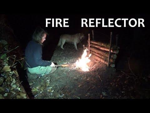 Bushcraft - Making a Fire Reflector