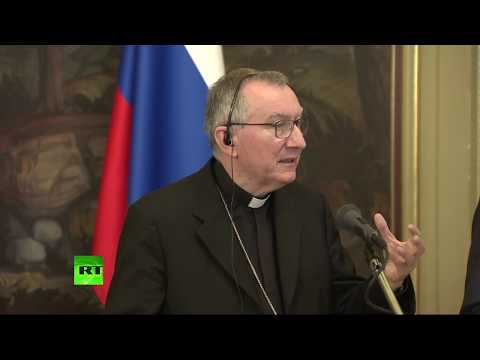 Сергей Лавров и госсекретарь Ватикана подводят итоги встречи - DomaVideo.Ru
