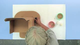 Adaptive Design Association, Inc. - www.adaptivedesign.org Save the sawdust from cutting cardboard to make this putty. You can ...