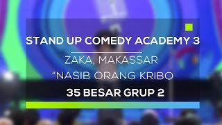 Video Stand Up Comedy Academy 3 : Zaka, Makassar - Nasib Orang Kribo MP3, 3GP, MP4, WEBM, AVI, FLV November 2017