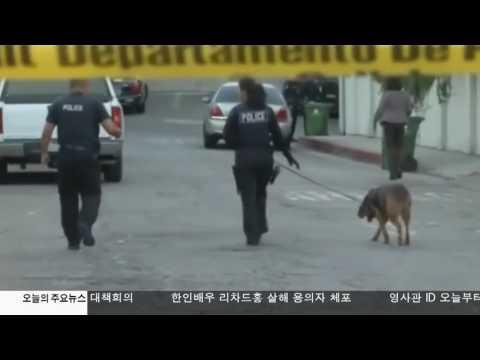 한인배우 살해 용의자 체포  10.04.16 KBS America News