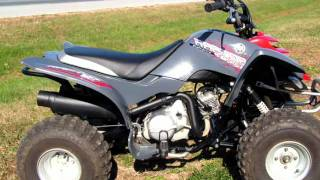 2. 2007 Yamaha Raptor 80 YFM80RWG Youth Sport ATV Walk Around