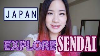 Sendai Japan  city images : Japan Vlog: Explore SENDAI   FOX VILLAGE & FOOD!   KimDao in JAPAN