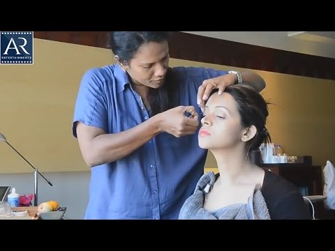 Actress Bhavana Make Up Video and Photoshoot | AR Entertainments