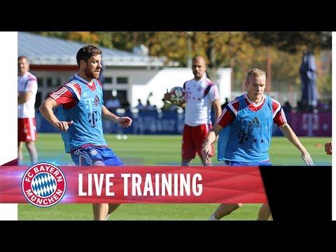Training - Das komplette Training des FC Bayern RELIVE hier: