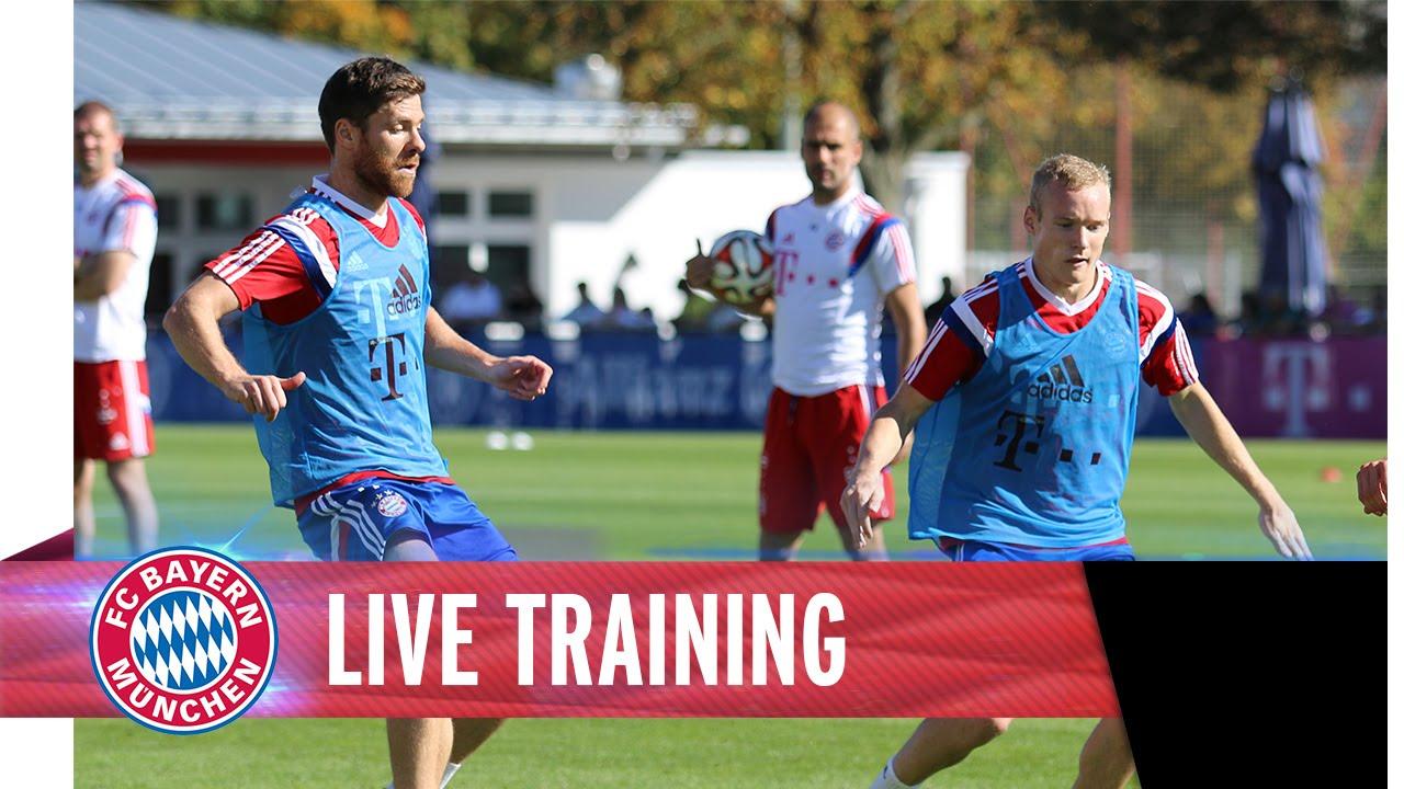 Galerie video - Antrenamente Bayern Munchen - Guardiola