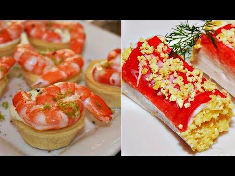 Гости сперва налетают именно на эти блюда 5 самых вкусных закусок к Новому году - DomaVideo.Ru