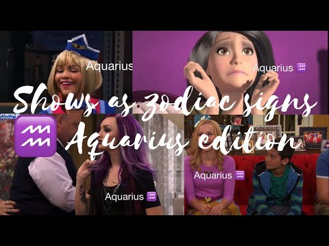 Shows as zodiac signs// Aquarius ♒️ edition episode 7