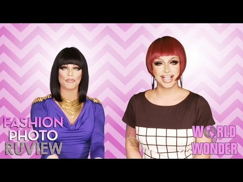 RuPaul's Drag Race Fashion Photo RuView with Raven & Morgan McMichaels – #WayBackWHENsday Pt 2