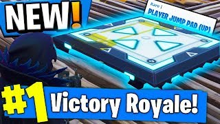*NEW* PLAYER JUMP PAD?! NEW BOUNCER PAD COMING To Fortnite Battle Royale!!