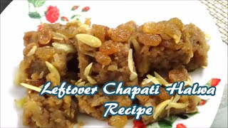We often have leftover chapatti at home. Instead of throwing it, we can use it creatively to make innovative dishes that are not only tasty but also healthy and easy to make recipe. So this time I tried making halwa a sweet dish from leftover chapatti and it really tasted so well that it was finished with in no time. For more recipes click on to http://reshuskitchen.blogspot.com/