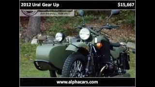 8. 2012 Ural Gear Up New Motorcycles Boxborough MA
