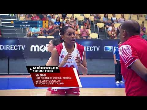 ESTE MIÈRCOLES! Liga Chilena de Vóleibol Femenina A1
