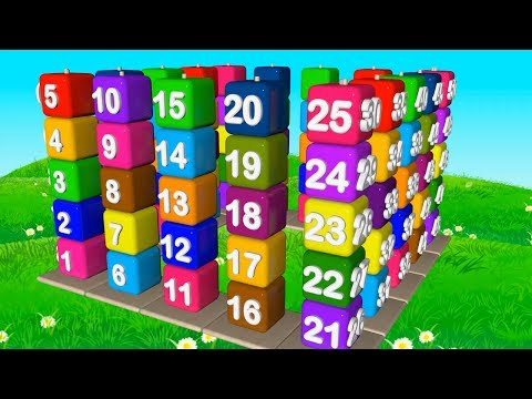 Number song 1-100 - Count to 100 song - Counting numbers