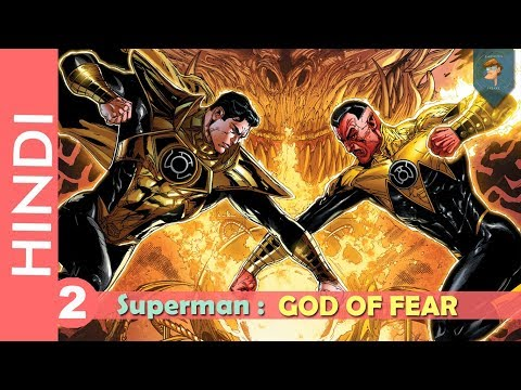 "Superman ""god Of Fear""--episode 02!! Fear Itself 2 !!/dc Comics In Hindi"