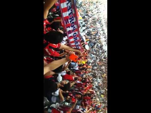 La Mejor Hinchada del País jugando de local en el Arena Corinthians - La Plaza y Comando - Cerro Porteño