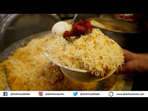 World Famous Hyderabadi CHICKEN BIRYANI | Biryani MAKING & Tasting