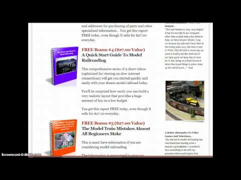 Model Train Track Plans