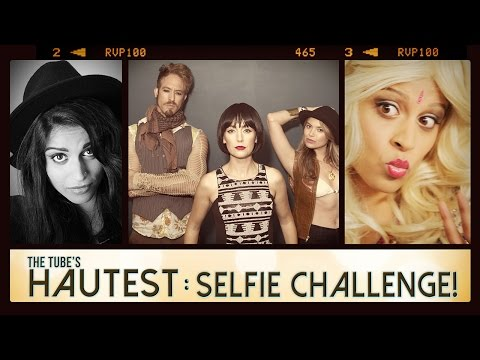 The Selfie Challenge | The Tube's Hautest // I love makeup.