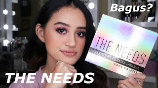 Video THE NEEDS PALETTE TASYA FARASYA X FOCALLURE ! FIRST IMPRESSION REVIEW | Nadya Aqilla MP3, 3GP, MP4, WEBM, AVI, FLV Juli 2019