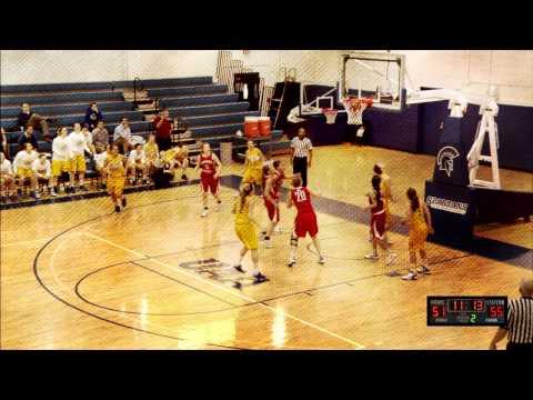 2014 Spartan Women's Basketball UAA Pregame Show Opening
